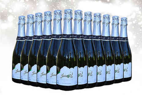 All My Wine - 12 bottles of Joi de Vie sparkling white wine - Save 74%