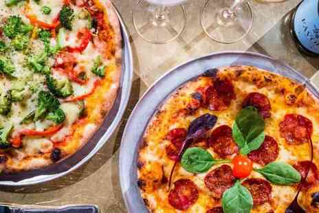 Radisson Blu Glasgow - Pizza and glass of Prosecco each for two people, Upgrade to a bottle of Prosecco - Save 42%