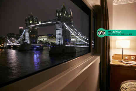 Omega Breaks - Four Star overnight Tower Bridge, London getaway with breakfast and return train travel - Save 0%