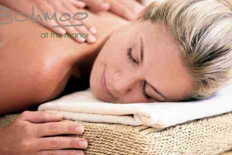 Schmoo - Three Treatment Spa Pamper Package - Save 57%