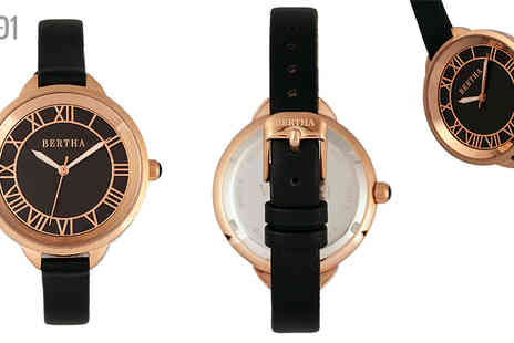 Ideal Deal - Bertha Madison Ladies Watch Choose Six Styles - Save 92%