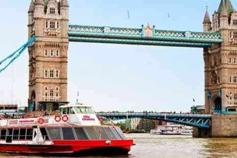 City Cruises PLC - 3 Day hop on, hop off Thames river cruise ticket - Save 49%
