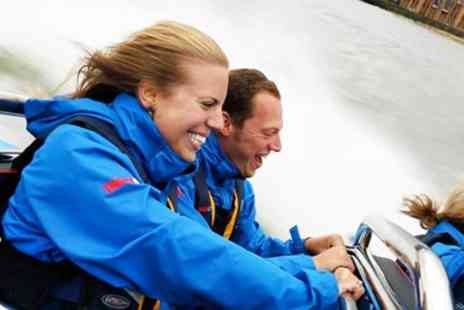 City Cruises PLC - High speed Thames boat ride for 2 - Save 24%