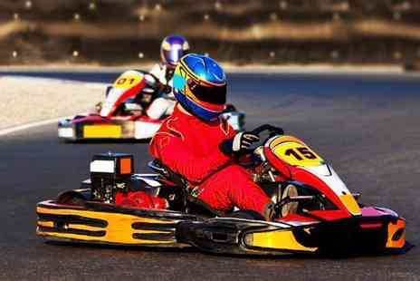 Ace Karting - 50 laps of go karting - Save 25%