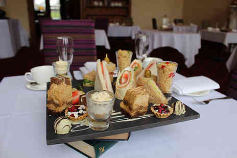 Stoke Rochford Hall - Afternoon tea for two with a glass of Prosecco each - Save 52%