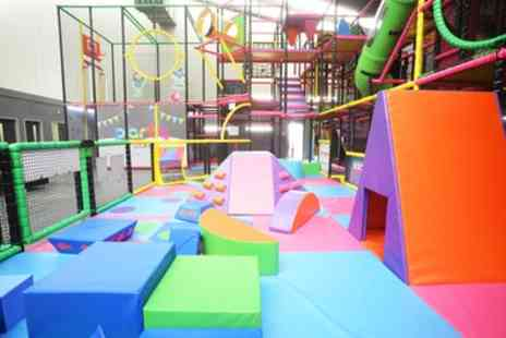 Yeah Days Out - Soft Play Gym Access for Up to Four Children - Save 43%