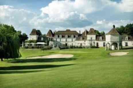 Chateau des Vigiers - In The Dordogne Two Night Stay for Two With Dinner and Golf - Save 54%