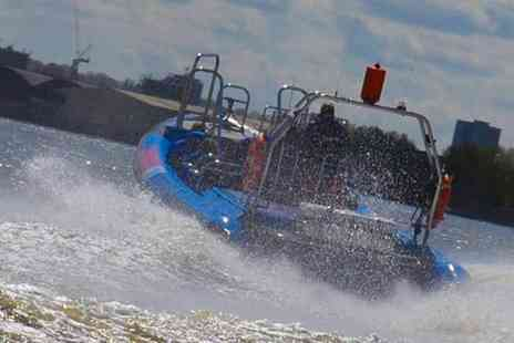 Encore Tickets - ThamesJet River Experience Action and Adventure on the River this Summer, Kids Go Half Price - Save 50%