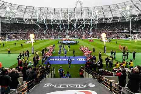 Saracens - Childs silver seat ticket to see Saracens vs. Harlequins rugby on 23rd March 2019 - Save 24%