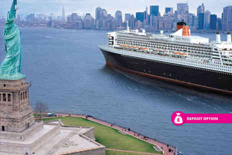 Book In Style - 13 nights trip with a full board Atlantic Cruise, stays in New York and Niagara Falls, transfers and flights - Save 23%