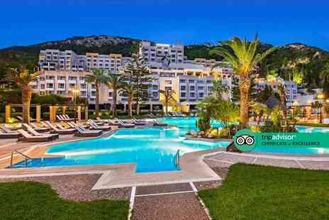 Bargain Late Holidays - Five, seven or 10 nights half board Rhodes getaway in a Garden View room and return flights - Save 27%