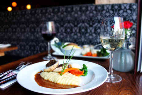 Ingram Wynd - Three course dining for two people - Save 52%