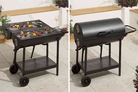 Trojan Electronics - Double sided oil drum barbecue - Save 0%