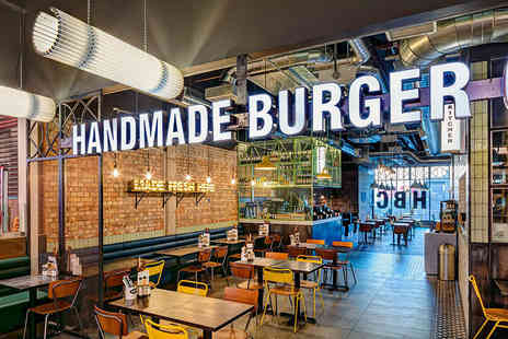 Handmade Burger Company - Burgers for Two - Save 48%