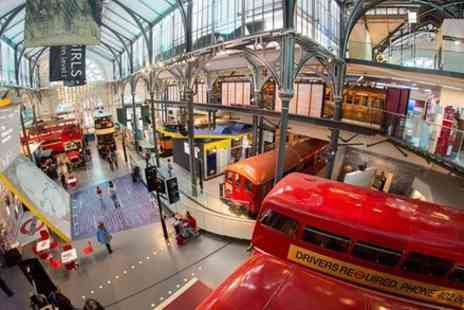 London top sight tours - London Transport Museum Ticket and 20 Top Sights London Walking Tour - Save 0%