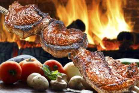 Rodizio Grill - All You Can Eat Brazilian Barbecue for Two or Four - Save 32%