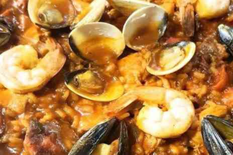 AguaDulce - Paella of Choice and Jug of Sangria for Two or Four - Save 52%