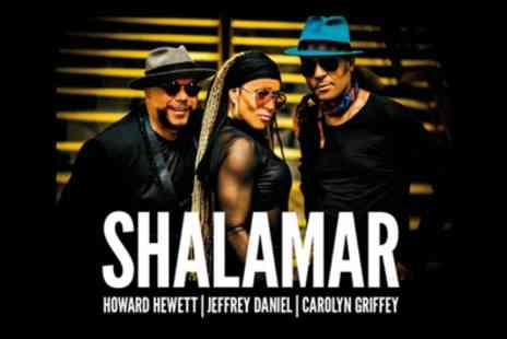 Shalamar Live - One ticket to see Shalamar on 31 May To 1 June - Save 11%