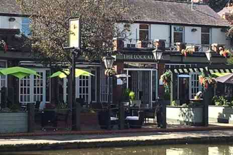 The Lock Keeper - Burger Meal with Beer for Two or Four - Save 38%