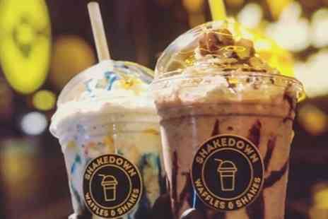 Shake Down - Five or Ten Milkshakes of Choice - Save 47%
