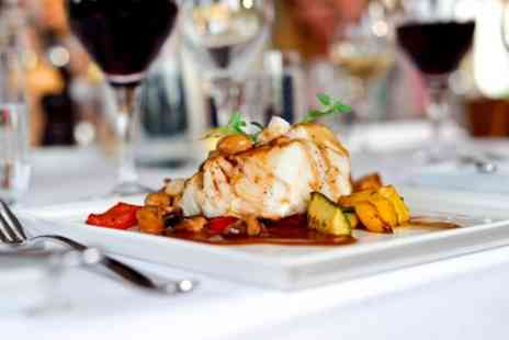 How Do You Do - Two Course Meal with a Glass or Bottle of Wine for Two or Four - Save 54%