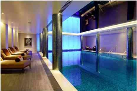 London Marriott Hotel - Pamper Day with Treatment and Champagne Afternoon Tea for Two - Save 0%