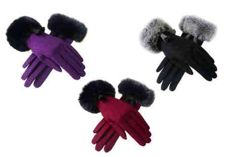 JC Unique - Tassel glove gift box choose from three colours - Save 0%