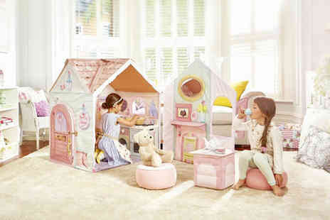 Trojan Electronics - Dream Town rose petal play house with cooker - Save 0%