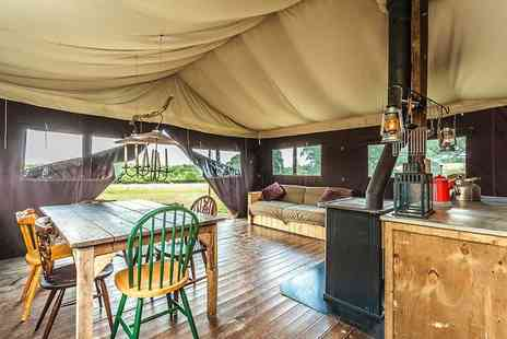 Feather Down - Two nights canvas lodge stay for up to six people - Save 55%