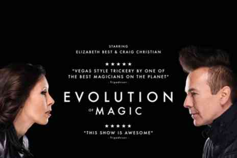 Evolution of Magic - Entry ticket to Craig Christian Evolution of Magic on 28 June To 1 September - Save 29%