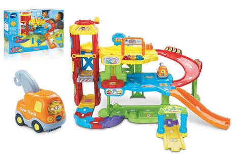 Trojan Electronics 2018 - VTech baby Toot Toot drivers garage toy - Save 0%