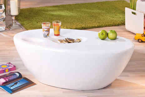 Dream Price Direct - Large modern oval coffee table - Save 49%