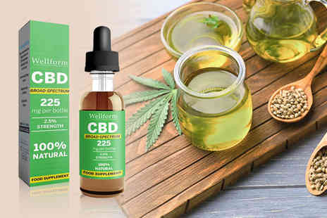 Personal Choice -  2.5% Wellform CBD drops - Save 68%