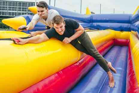The Event Corporation - Three hour inflatable It's a Knockout style games session - Save 53%