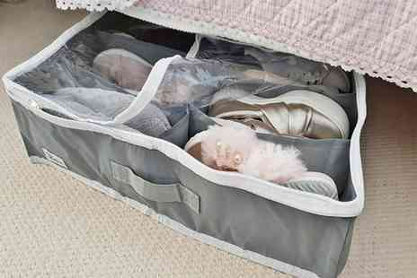 JN Imports - Under bed shoe storage box - Save 85%