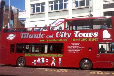 Hop On Hop Off City Tours - Belfast Open Top Bus Sightseeing Tour Including High Street and Titanic Belfast - Save 34%