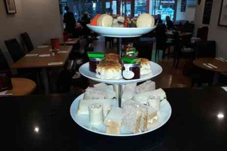 Aroma Cafe Bar - Afternoon Tea with Optional Glass of Prosecco or Bottomless Prosecco for Two or Four - Save 0%