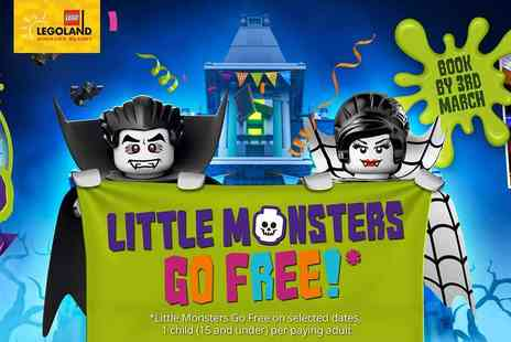 Holiday Extras - Little Monsters Go Free at the Legoland Windsor Resort and Resort Hotels - Save 0%