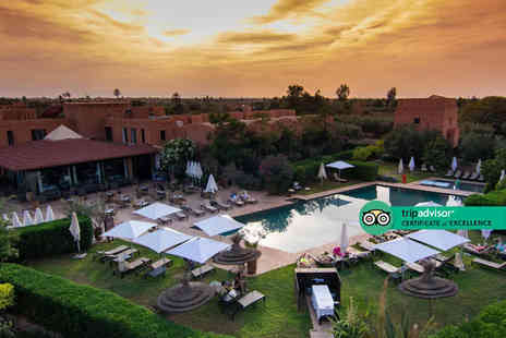 Super Escapes Travel - Four Star three, five, seven, 10 or 14 nights Marrakech Villa getaway with the ability to choose your flight - Save 0%