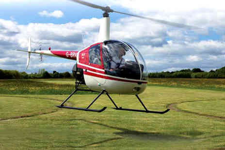 Heli Jet Aviation - Hover challenge experience for one person with a certificate - Save 41%