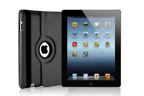 Smart IT Technologies - Refurbished Apple iPad 2 with a leather case - Save 82%