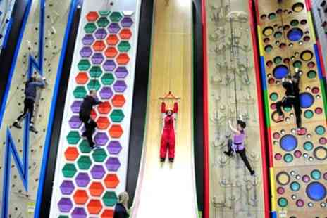 Clip n Climb - Winter and Summer Clip n Climb Time Slot for One or Two - Save 25%