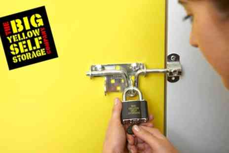 Big Yellow Self Storage - £50 to Spend on Storage Space - Save 82%