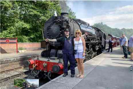 Churnet Valley Railway - Steam Train Trip for Two - Save 0%