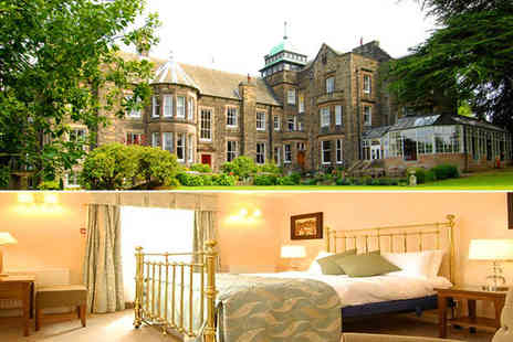 Makeney Hall Hotel - Two night break,  bed and breakfast for two plus a bottle of wine in the hotel restaurant - Save 62%