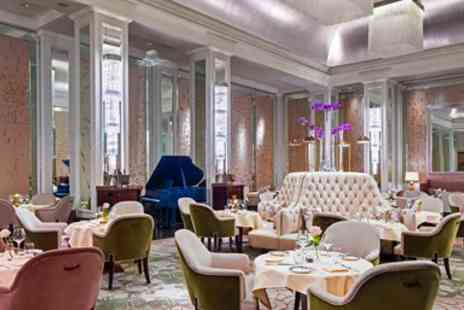 Palm Court Langham - Meal with bubbly and live music for 2 - Save 0%
