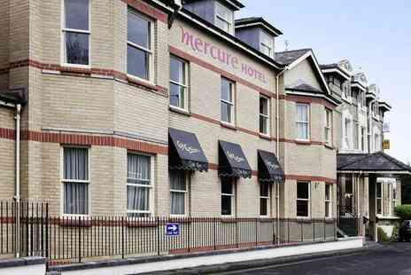 Mercure Altrincham Bowdon Hotel - Overnight stay for two people with breakfast, a three course dinner, a glass of wine each and 3pm late check out - Save 50%