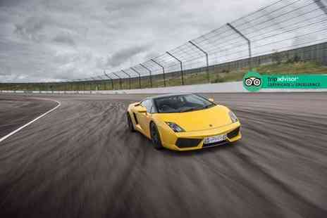 Supercar Drive Days - Three mile junior supercar passenger driving experience - Save 39%