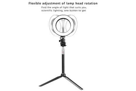 JAOYEH IRELAND - Led Dimmable Studio Ring Beauty Lights with Adjustable Stand Choose Two Sizes - Save 70%