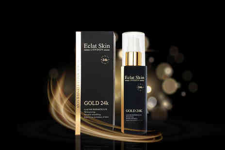 Eclat Cosmetic - 60ml 24k gold anti wrinkle serum - Save 67%